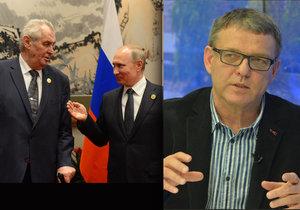 Ministr zahraničí Zaorálek kritizoval Miloše Zemana za výrok o likvidaci novinářů.