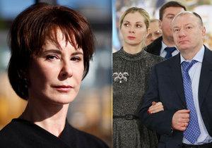 Exmanželka chce po oligarchovi Vladimirovi Potaninovi stovky miliard.