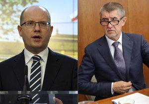 Sobotka si rýpl do ministerstva financí a Andreje Babiše: Návrh rozpočtu byl prý šitý horkou jehlou.
