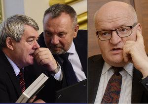 Ministr kultury Daniel Herman se ve Sněmovně pustil do komunistů, schytal to od Filipa i Kováčika.