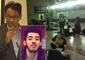 Muslimský psychiatr Tanveer Ahmed po útoku v Manchesteru vyzval k omezení migrace z islámských regionů.