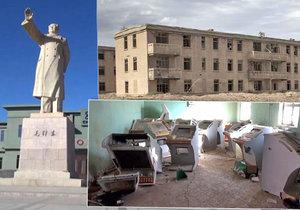 Město duchů: Zde stavěli Číňané atomovku