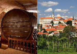 Největší sud na víno v ČR naleznete v Mikulově.