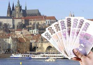 Praha loni utratila 62 miliard, hospodařila s přebytkem (ilustrační foto).