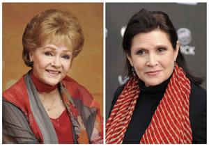 Debbie Reynolds i její dcera Carrie Fisher byly obě slavné herečky.