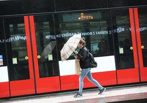 Připravte se na sychravý týden. Bez deštníku se do práce nevydávejte