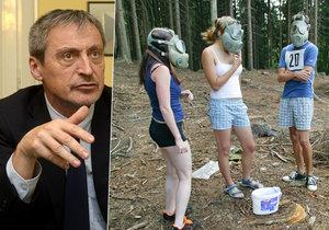 Ministr obrany Martin Stropnický by byl pro znovuzavedenní povinné brané výchovy do škol.