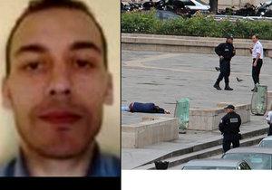 Alžířan zaútočil na policistu, hlídka ho postřelila.
