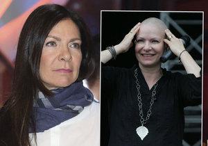 Anna K. bojuje znovu s rakovinou.