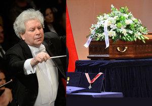Poslední rozloučení s Jiřím Bělohlávkem (†71)
