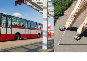 Nevidomý muž zachraňoval v autobuse jiného cestujícího, který zkolaboval. (ilustrační foto)