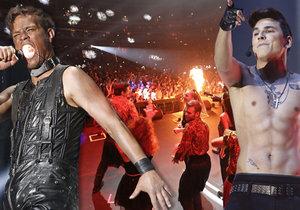 Koncert Tváře si užili fanoušci i účinkující.