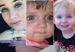Amanda (19) nechala své dvě dcerky (†2 a †1) v rozpáleném autě a šla se bavit. Obě zemřely.