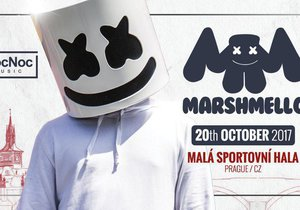 Marshmello vystoupí poprvé v Česku 20. října.