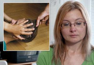 Lenku týral manžel přes 20 let. Urážel ji a pořezal nohy.