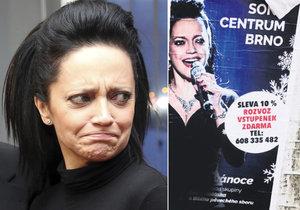 Lucie Bílá má lístky na svůj koncert ve slevě.