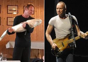 Sting před koncertem v Česku odpočíval v Norsku.