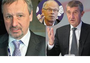 Ivan Pilný a Martin Komárek dávají sbohem Andreji Babišovi. Šéf ANO zuří.