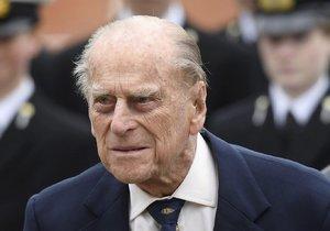 Princ Philip byl již propuštěn z nemocnice.