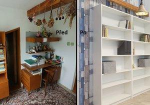 Z podkroví designéři vykouzlily perfektní pokojíčky.