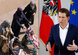 Rakouský ministr chce zrušit muslimské školky.
