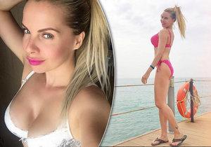 Kateřina Kristelová se pochlubila sexy fotkou..