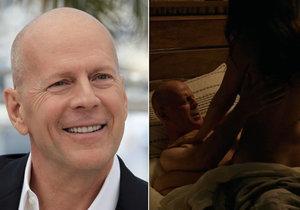 Bruce Willis předvede žhavou scénu v novém filmu.