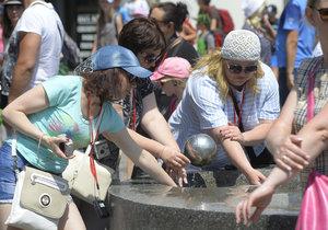Čtvrtek 22. 6. byl nejteplejším dnem v roce. Na mnoha místech padaly rekordy.