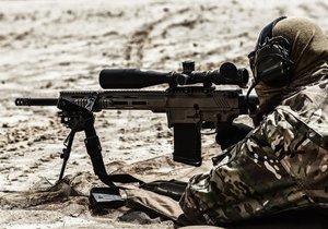 Snipeři jsou elitní vojáci, kteří jsou schopní střílet z extrémních vzdáleností. (Ilustrační foto)