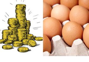 Vajíčko stojí běžně čtyři koruny, to farmářské ale až osm korun.
