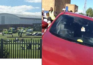 V Newcastelu najelo auto do lidí: Šest zraněných včetně tří dětí