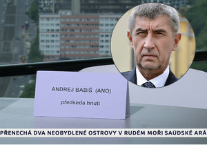 Andrej Babiš opět nepřišel diskutovat k Václavu Moravcovi. Prý kvůli nemoci v rodině. Jeho židle zůstala prázdná.