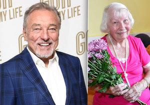 Vlasta Strejcová (97) vozila v mládí Karla Gotta v kočárku, ráda by se s ním ještě setkala.