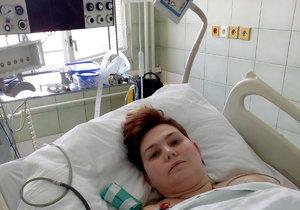 Edita (35) se probrala z kómatu: Špatně mluví a je ochrnutá, bez pomoci se neobejde