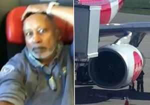 Pilot stroje aerolinek AirAsia cestujícím řekl, ať se pomodlí za přežití.
