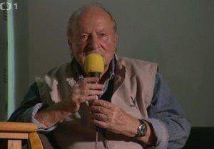 Režisér a scénárista Ivan Passer mimo jiné prozradil, jak s Milošem Formanem utíkali v roce 1969 za hranice.