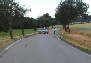 Mladík (†19) na Strakonicku ležel na silnici, zabilo ho projíždějící auto