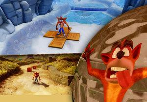 Crash Bandicoot N. Sane Trilogy je skvělou retro kompilací pro pamětníky.