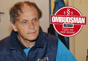 Jiří Vacenovský z Jeseníku pracoval víc než deset let se zbíječkou v lomech. Uhnal si tam nemoc z povolání a kvůli ní ho propustili.