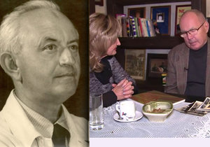 Václav Rabas v pořadu Zuzany Bubílkové vzpomíná na svého dědečka.
