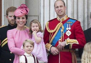 Kate s Williamem a dětmi