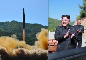 KLDR otestovala novou mezikontinentální střelu, Američané s Jihokorejci odpověděli vystřelením svých raket.