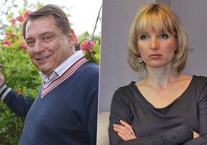 Vypadá to, že si Jiří Paroubek našel za ženu Petru už náhradu.