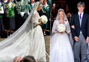 Princ Ernst August Hannoverský (33) se dnes v severoněmeckém Hannoveru oženil s ruskou designérkou Jekatěrinou Malyševovou (30).