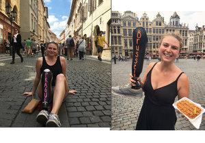 Devon přišla v dětství o nohu, s protetickou nohou se vydala na cestu po Evropě.