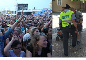 Některé české festivaly podceňují bezpečnost. (Ilustrační foto)