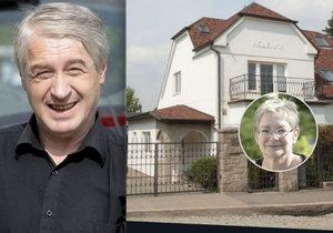 Darina Nová se těší, až bude moci z vily v Říčanech Rychtáře soudně vystěhovat.