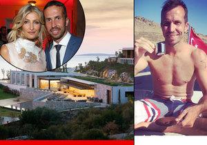 Radek si užíval v luxusním resortu, který vlastní Tereza Maxová s manželem Burakem.