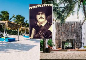 Z bývalého sídla drogového bosse Pabla Escobara se stal luxusní hotel.