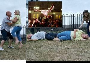 Postarší snoubenci chtěli předvést zvedačku z Hříšného tance. Po kolizi skončili v nemocnici!